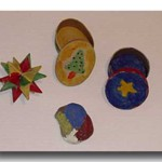 You can buy ready-made heavy card boxes and Christmas ornaments from many craft stores and then paint them for gifts. If your child really enjoys painting objects, don't forget that stones are great fun to paint too!