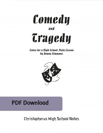 Comedy and Tragedy cover